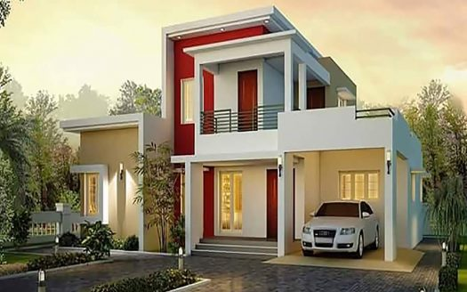 4 Bedroom Duplex + Self-Contained BQ (Inbuilt)